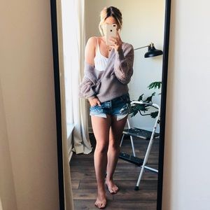 THE SUMMER SWEATER : romantic loose knit